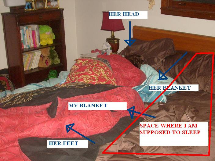 Sleeping with kids, Sideways Sleeper