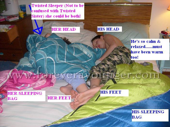 Fast Asleep, Sleeping Kids