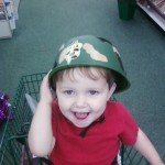 Wordless Wednesday-Soldier Boy