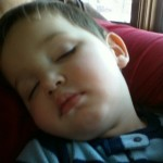 Wordless Wednesday-Tired Boy