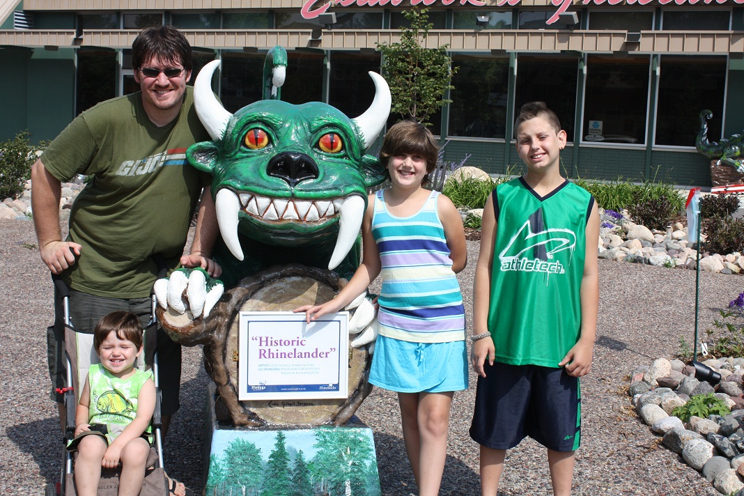 Hanging with a Hodag!