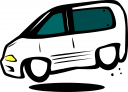 minivan clipart