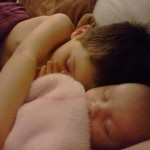 Wordless Wednesday – Brother & Baby Sister