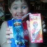 Power Rangers Samurai Blueberry & Berry Power Blast Juice Boxes Review