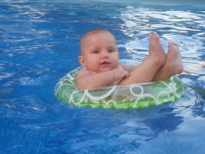 Water Baby, Swimming Baby, Floating Baby