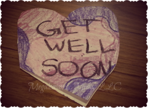 Get Well Soon Card, Words of Encouragement