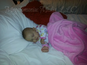 Snug As A Bug, Sleeping Baby, Hard Rock Hotel Chicago Bed