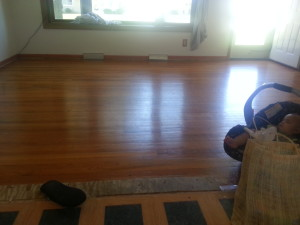 Oiled Hardwood Floor