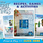 Disney's Secret of the Wings Activities