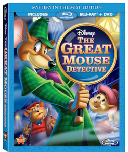 "THE GREAT MOUSE DETECTIVE"" MYSTERY IN THE MIST EDITION"