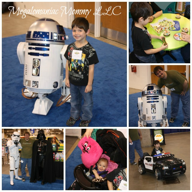 Chicago Toy & Game Fair, #ChiTaG, R2D2, Darth Vadar, Storm Trooper
