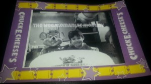 Alexander and Chuck E Cheese