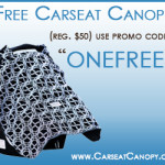 Get a FREE Carseat Canopy {Pay only S&H}