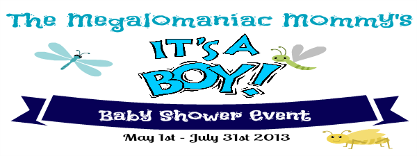The Megalomaniac Mommy's It's A Boy Baby Shower Event