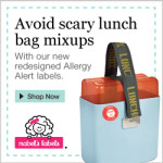 Newly Re-designed Allergy Alert Labels from Mabel's Labels