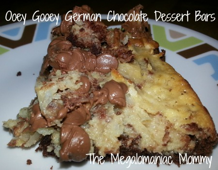 German Chocolate Dessert Bars
