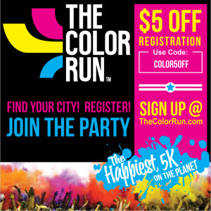 The Color Run Promo Code