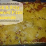 Quick & Easy Pepperoni Pizza Casserole {Recipe}