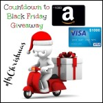 EXPIRED:  Countdown to Black Friday #Giveaway #WIN $1000
