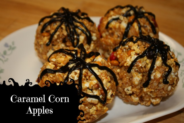 Caramel Corn Apples