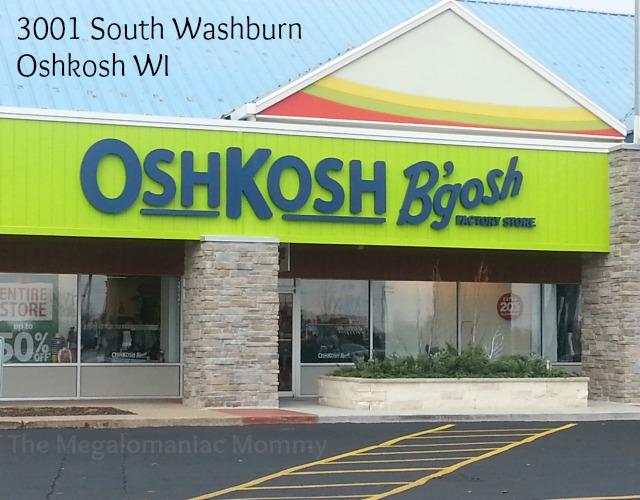 Coupons oshkosh outlet