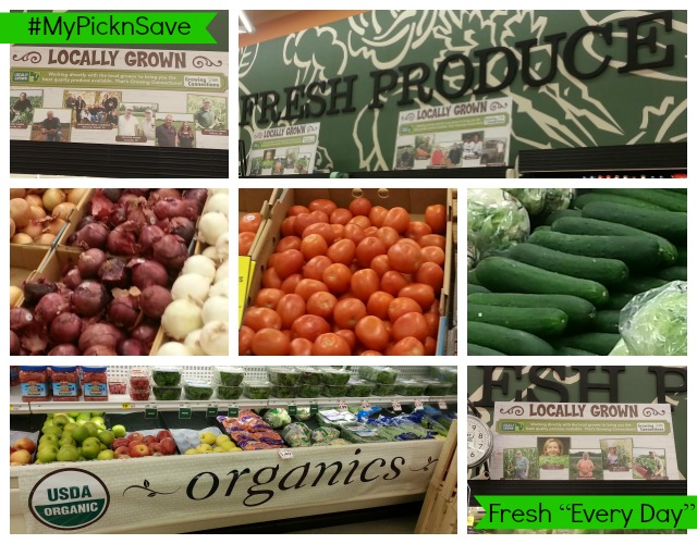 #MyPicknSave Fresh Every Day #cbias #shop Fresh Produce Locally Grown Organic