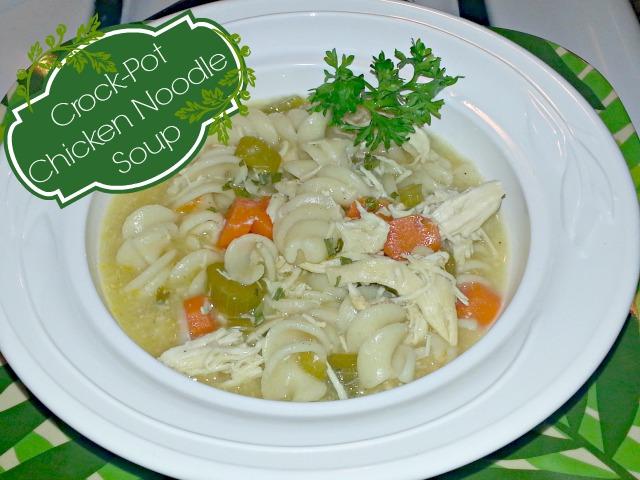Crock-Pot Chicken Noodle Soup #MyCopps #cbias #shop