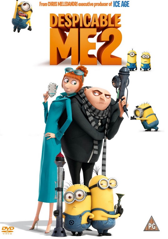 Despicable Me 2, #MyBlogSpark