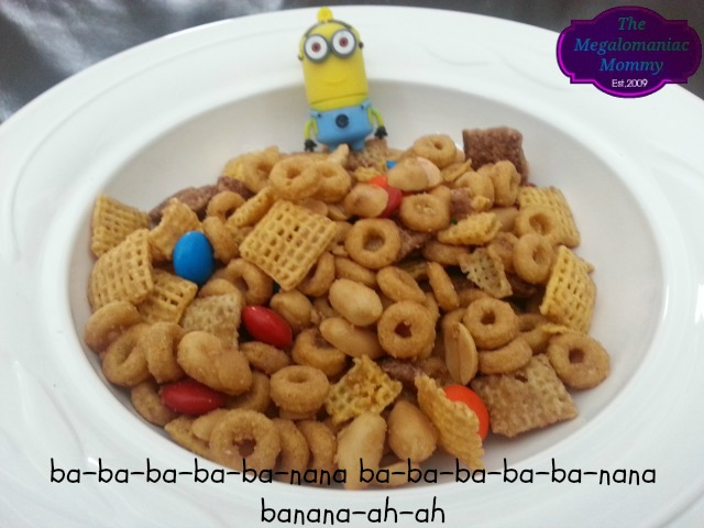 Minion Munch Chex Mix, Despicable Me 2, #MyBlogSpark