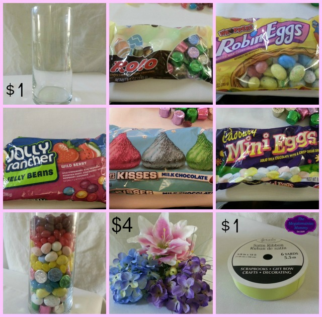Easter Centerpiece Celebrate With HERSHEY'S #BunnyTrail Collage