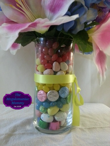 Easter Centerpiece Celebrate With HERSHEY'S Close Up #BunnyTrail