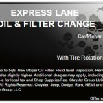 Save on Your Next Oil Change & Tire Rotation at Kolosso of Appleton