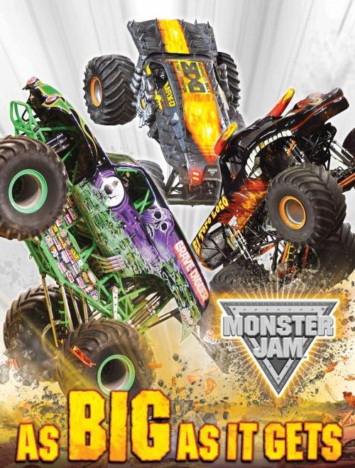 Monster Jam #MonsterJamGreenBay As BIG As It Gets 2014
