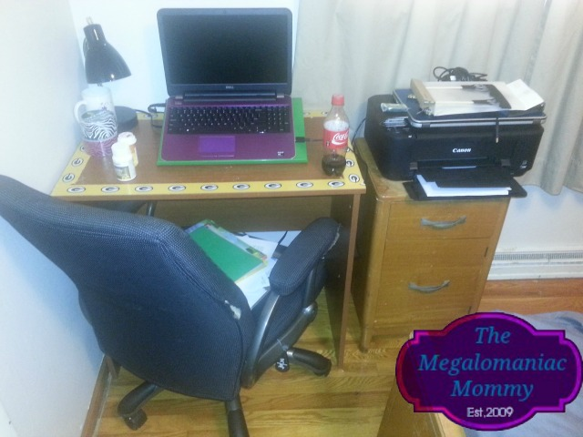 The Megalomaniac Mommy Corner Office #megalomommy