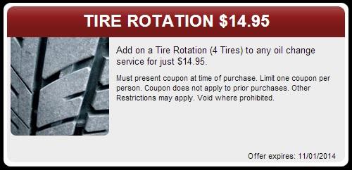 Tire Rotation Coupon Kayer Chrysler Center