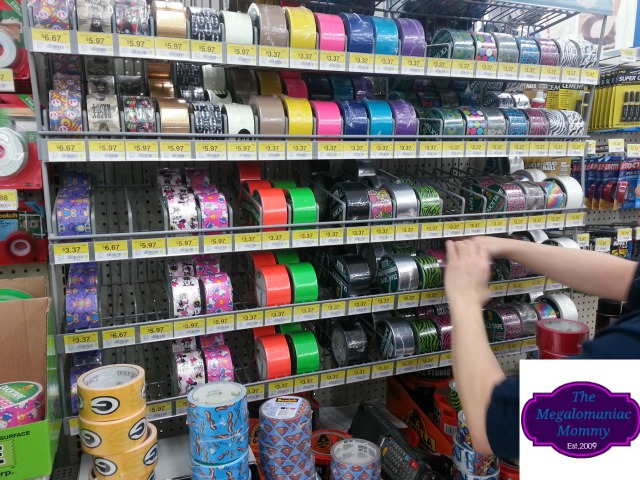 Walmart Duck Tape Stock #megalomommy