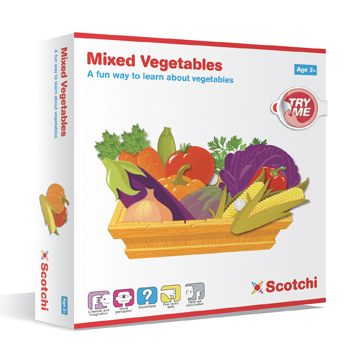 Scotchi Mixed Vegetables Educational Game
