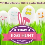 EXPIRED: Enter to WIN the Ultimate #TOMYEggHunt Easter Basket Sweepstakes
