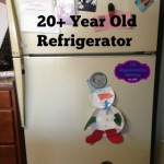 Give Your Refrigerator a Makeover {DIY}