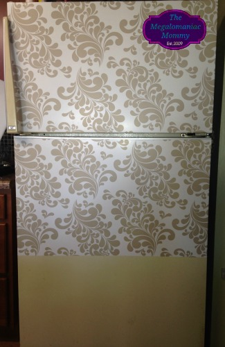 A Work in Progress, DIY, Refrigerator Makeover