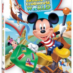 Mickey Mouse Clubhouse:  Around the Clubhouse World on DVD