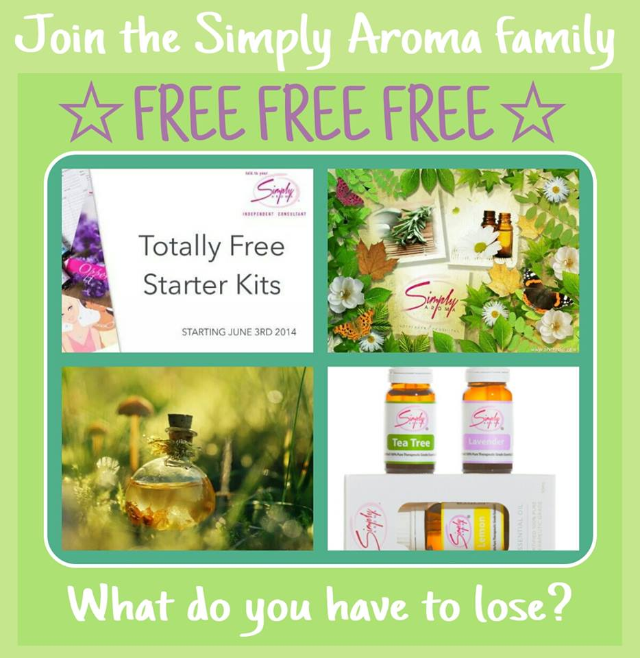 Simply Aroma June Promotion