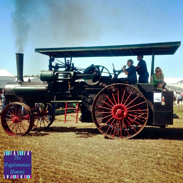 Case Steam Tractor  #OcontoCounty #Wisconsin #DiscoverWisconsin #BreakfastOnTheFarm #DairyMonth