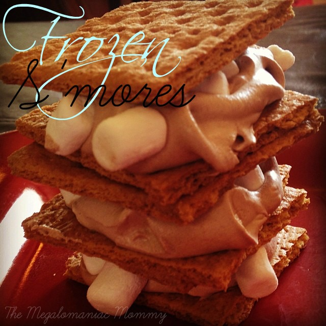 Frozen S'mores #megalomommy #recipe
