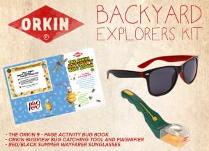 Orkin Bug Wisdom Backyard Explorers Kit