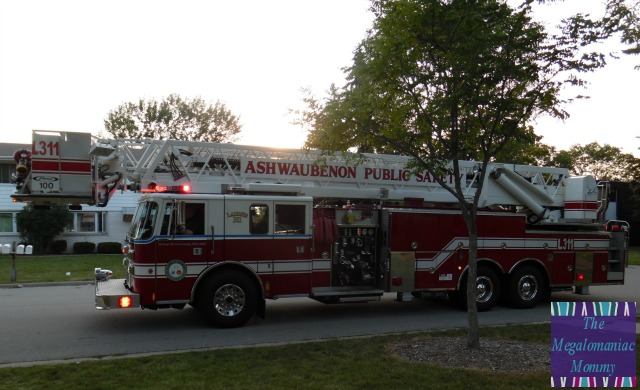 Ashwaubenon Public Safety Ladder Truck 311