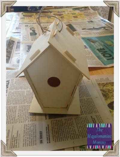 Assembled Birdhouse - Oriental Trading