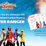 Print Your Own Letters from the Power Rangers with Walmart #SuperMegaforceWM