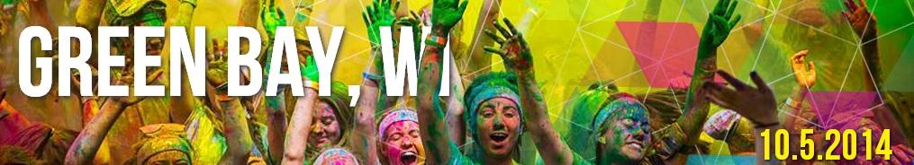 The Color Run Green Bay 2014