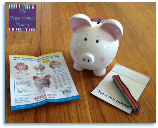 Wikki Stix Designer Piggy Bank
